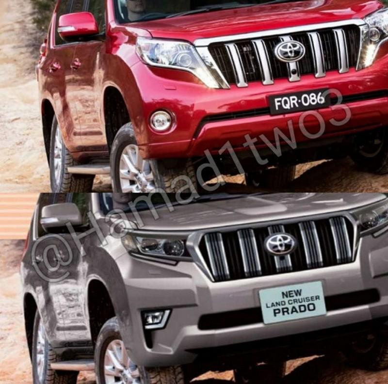 Обновленная Toyota Land Cruiser Prado