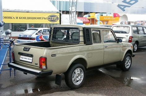 Пикап ВАЗ-2329 получил новую жизнь