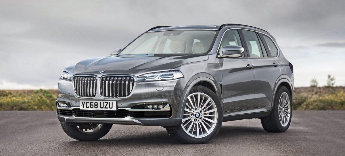 Озвучена дата премьеры нового BMW X7