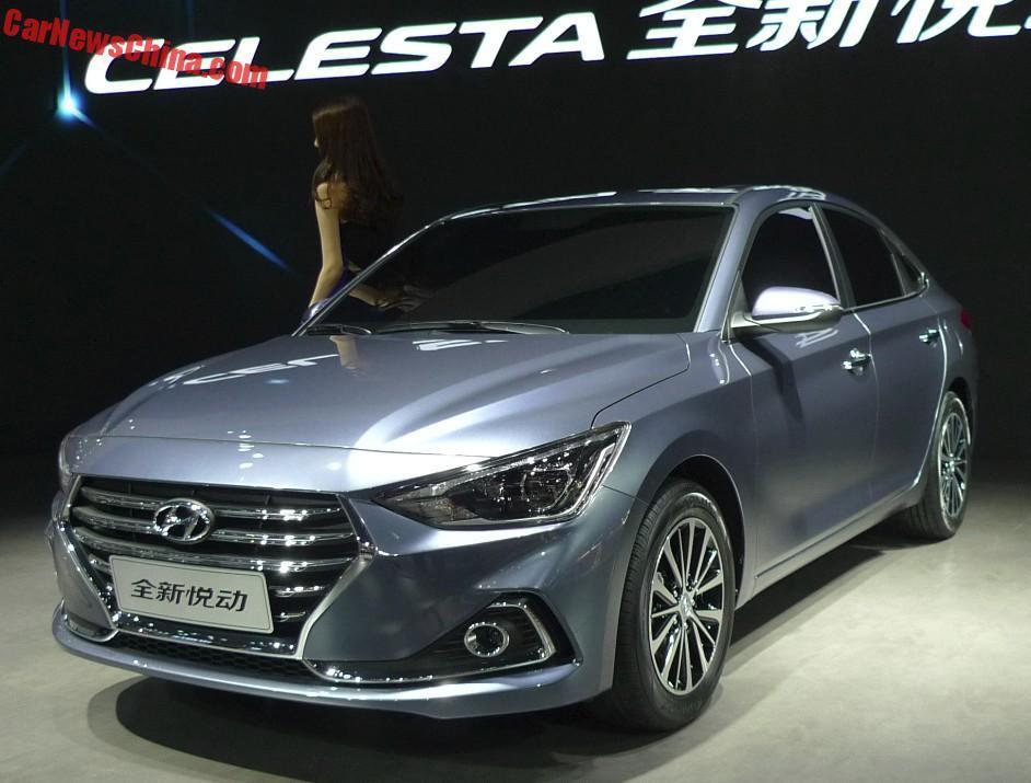 Hyundai готовит кдебюту новый хэтчбек набазе Celesta