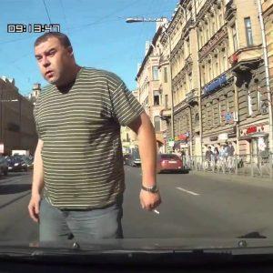 Водитель всегда псих? А пешеход?