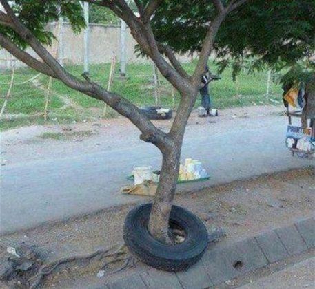 Загадочное колесо