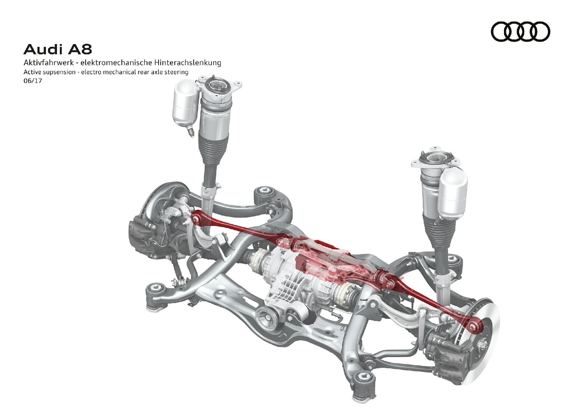 активная подвеска Audi A8