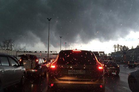 Очередная непогода в Москве