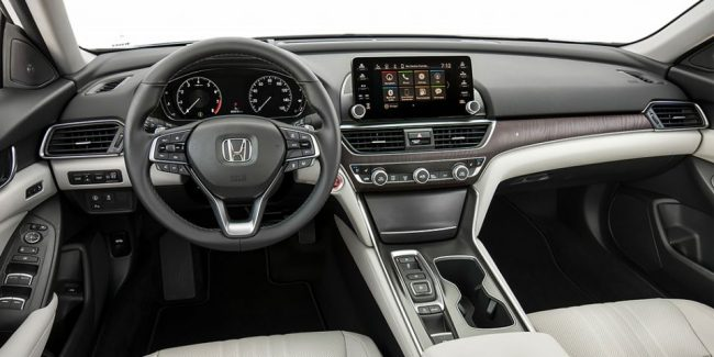 Honda Accord 2017 салон