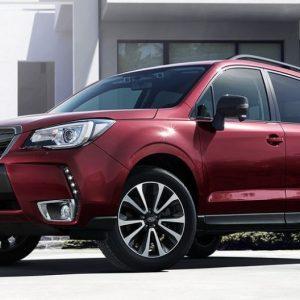 Subaru выводит на рынок особый кроссовер Forester