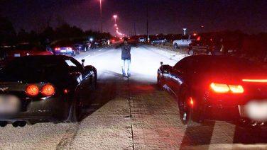 Стритрейсер сдался полиции