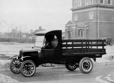 Вековой юбилей коммерческих автомобилей Ford