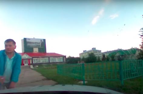 Татарским гаишникам пришлось отстреливаться от нетрезвой компании