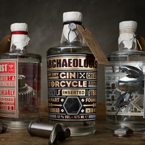Детали Harley-Davidson стали выпускать в бутылках...