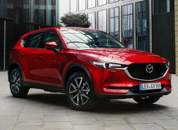 Mazda CX-5 попала в рейтинг самых популярных авто в РФ
