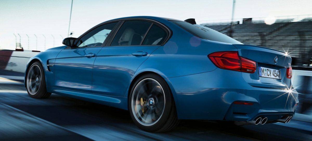 BMW выпустит самый мощный седан M3 в истории
