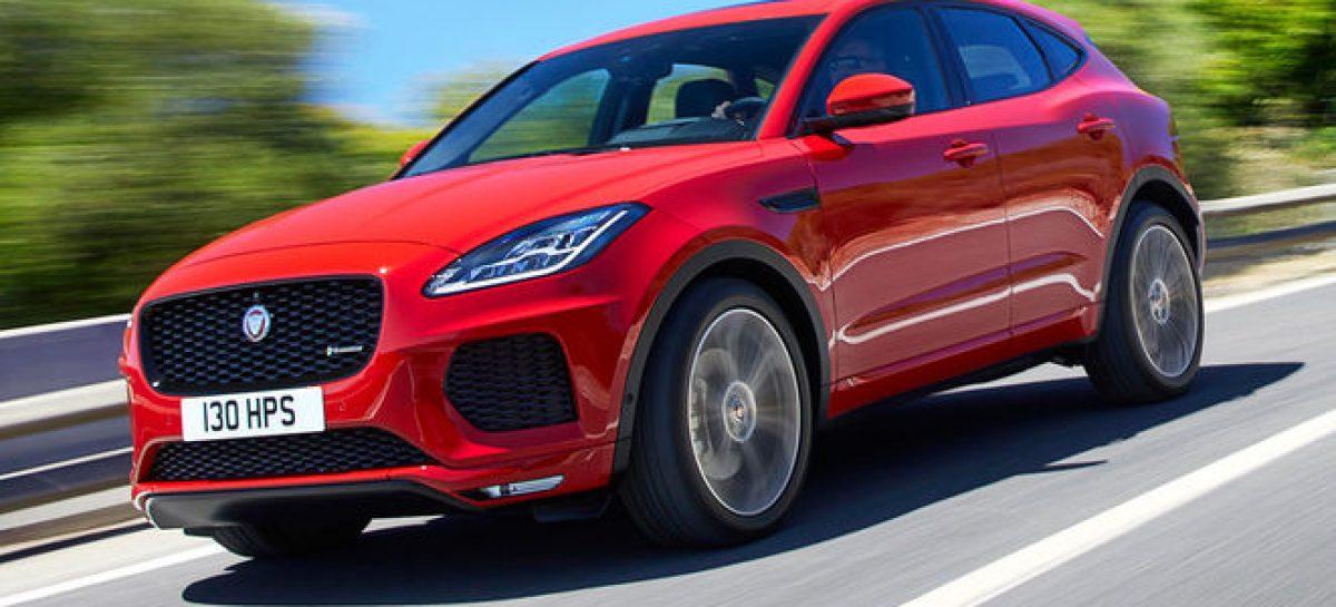 Jaguar E-Pace уже можно заказать в России