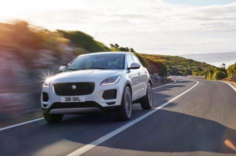 Jaguar презентовал компактный кроссовер E-Pace