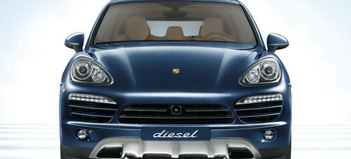 В Германии запретили кроссоверы Porsche Cayenne с трехлитровыми дизелями