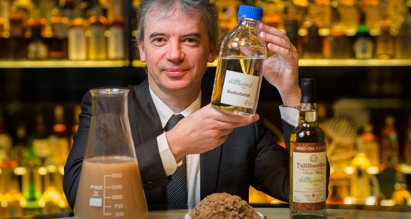биотопливо, сделанное из виски