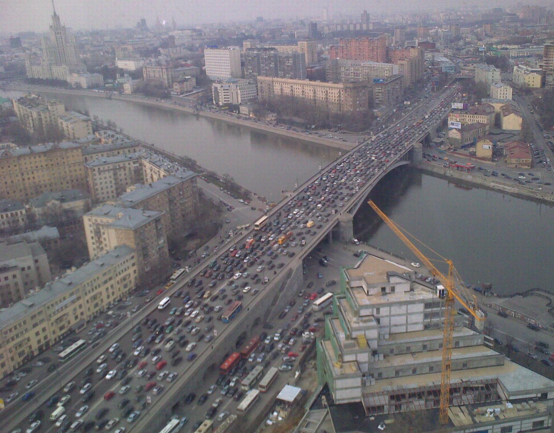 пробки Москва