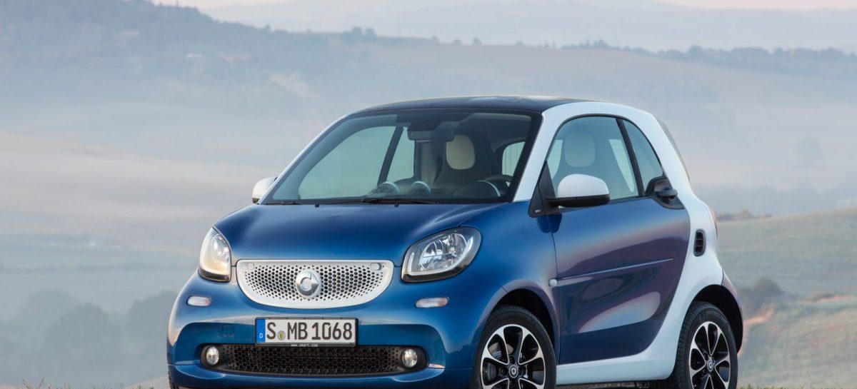 Российские продажи автомобилей Smart в I полугодии выросли в 2,5 раза