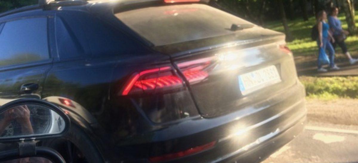 Новейший кроссовер Audi Q8 замечен в Подмосковье