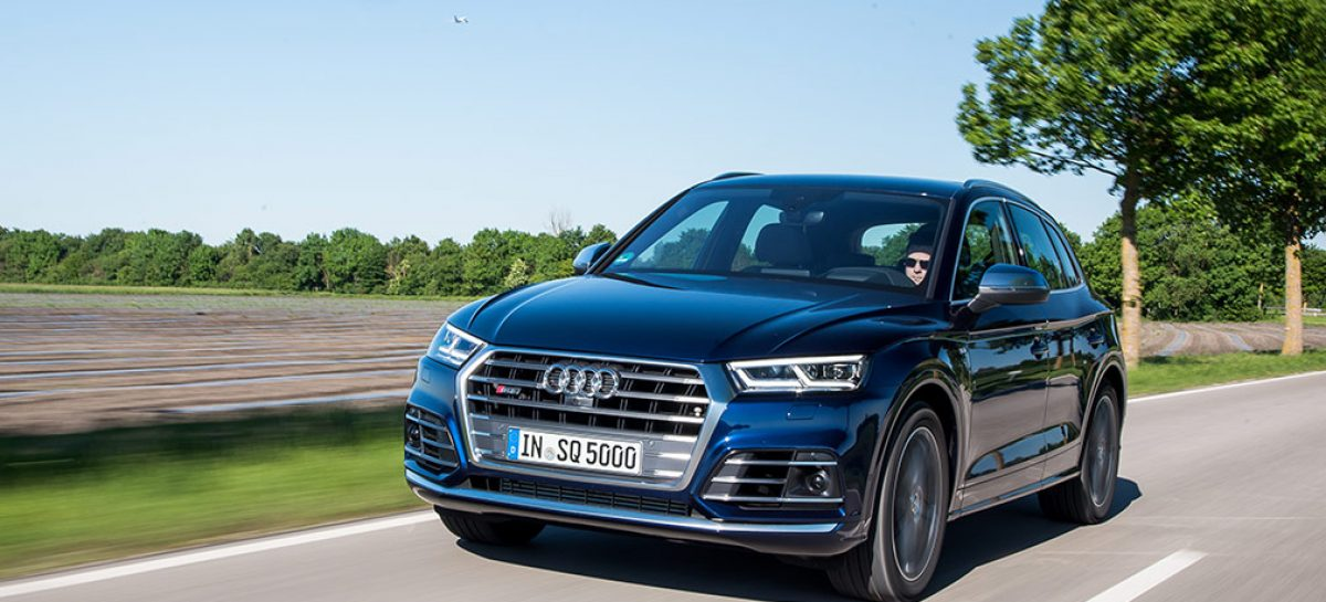 Audi в сентябре представит самый мощный Q5