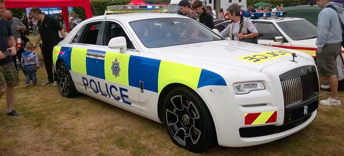Rolls-Royce Ghost передали английской полиции