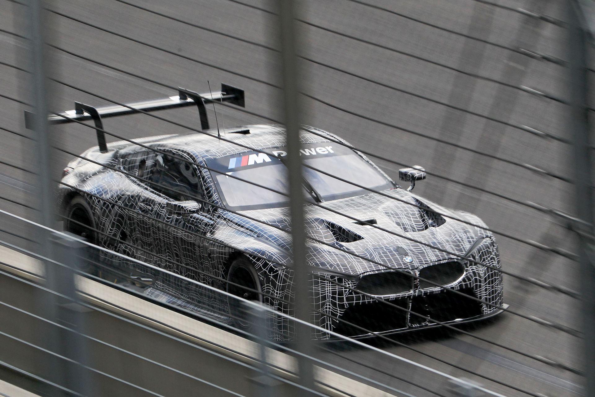 тестирование BMW M8 GTE -1