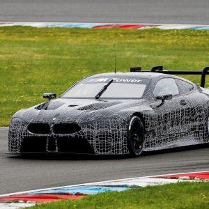 Тестирование нового BMW M8 GTE в Лаузицринге
