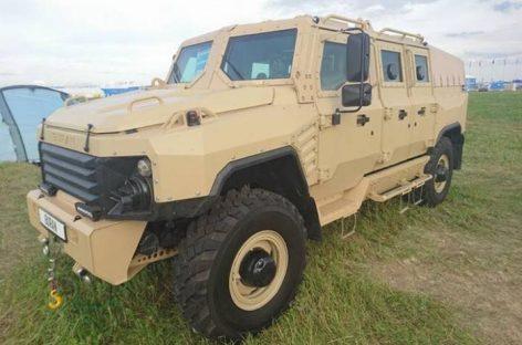 Новый российский броневик Буран