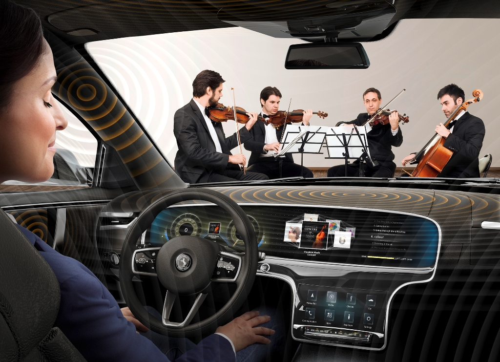 Continental презентовал аудиосистему без динамиков