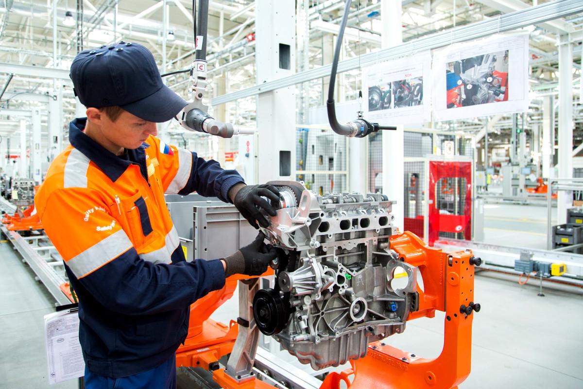 завод Ford локализация двигателей