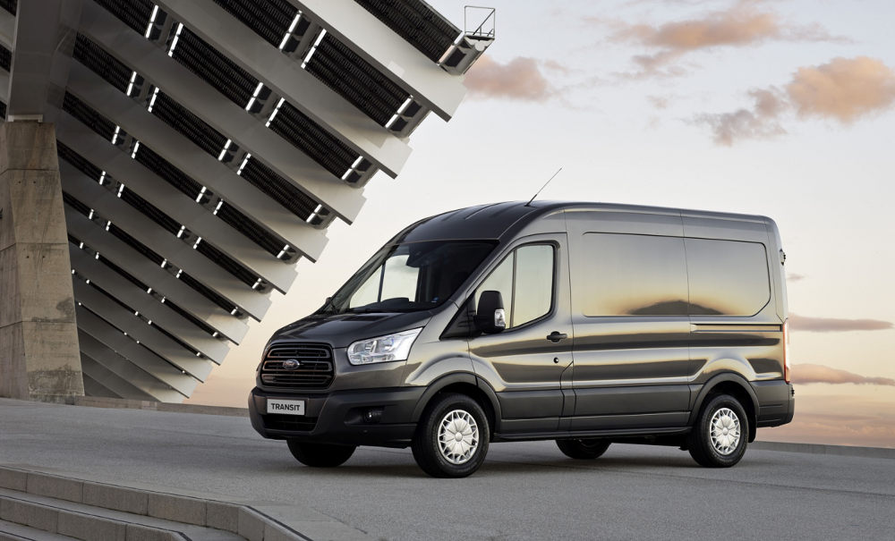 Ford Transit dawn