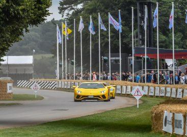 Lamborghini в Гудвуде