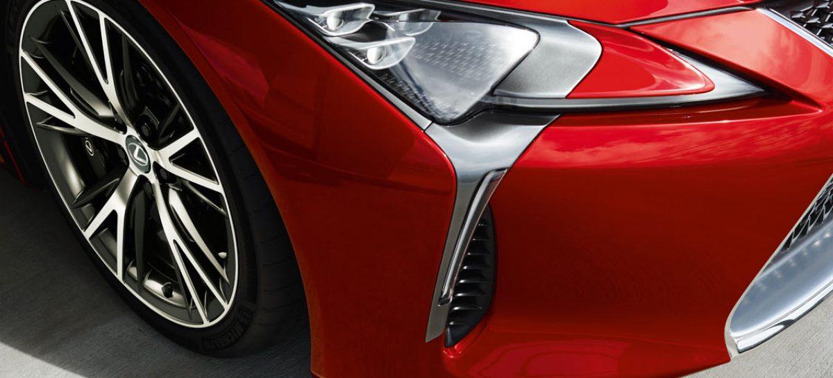 В России начал продаваться 477-сильный Lexus LC500