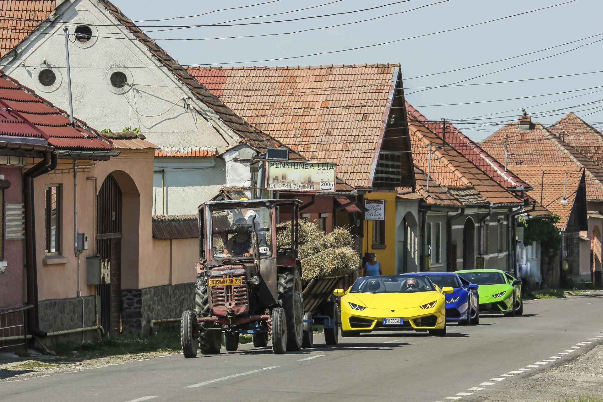 Lamborghini в Трансильвании