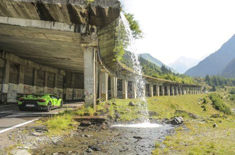 Lamborghini на родине Дракулы в Трансильвании