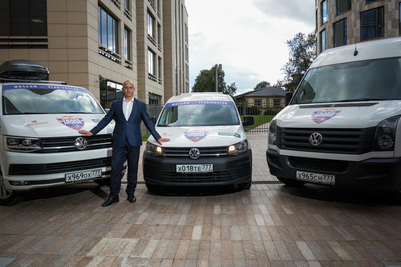 Михаил Семенихин и Volkswagen Коммерческие автомобили