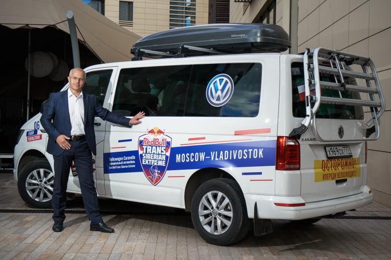Михаил Семенихин - руководитель Volkswagen