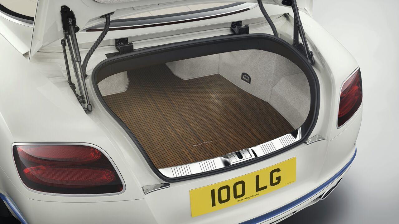 Bentley Continental GT Convertible багажник