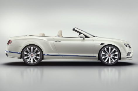 Bentley Continental GT Convertible – идея, навеянная яхтингом
