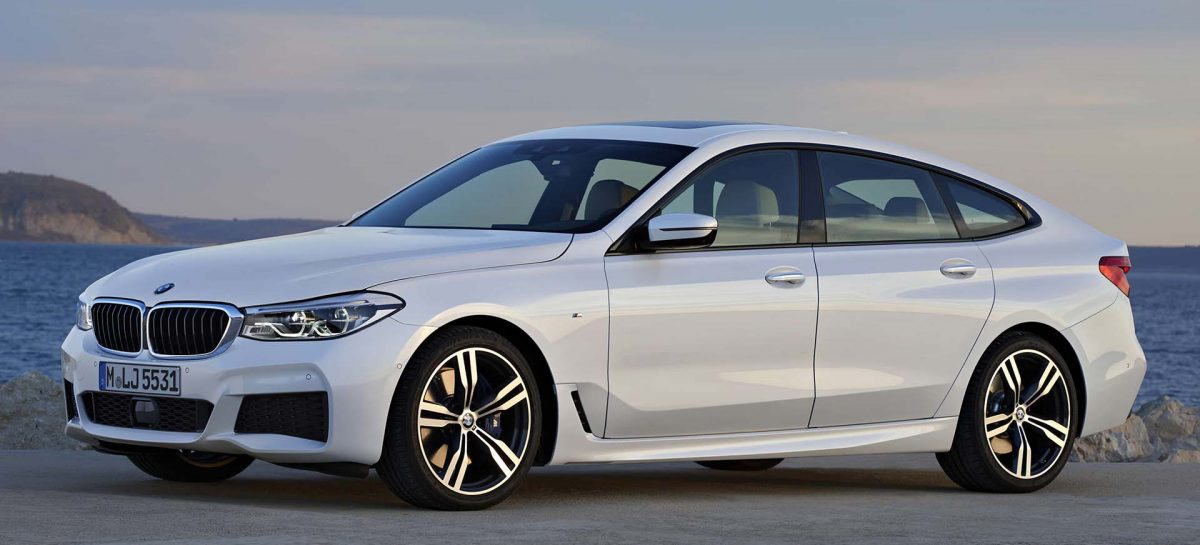 BMW Россия объявляет цены на новый BMW 6 серии GT