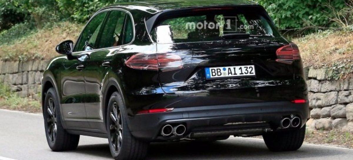 Новый Porsche Cayenne попал в объектив