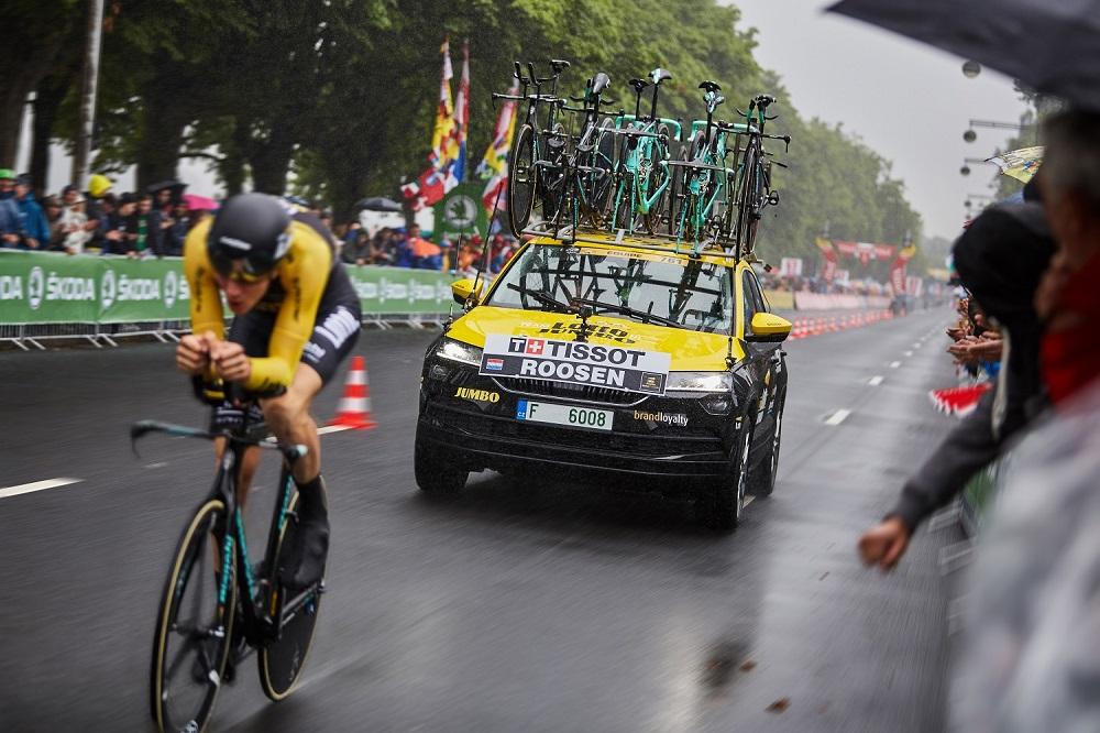 SKODA KAROQ _Тур де Франс