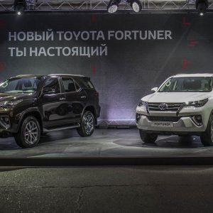 Счастливчик в теме. Toyota Fortuner скоро в России
