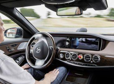 Новый Mercedes-Benz S-Class без водителя