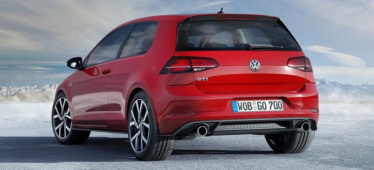 Названа стоимость обновленного Volkswagen Golf