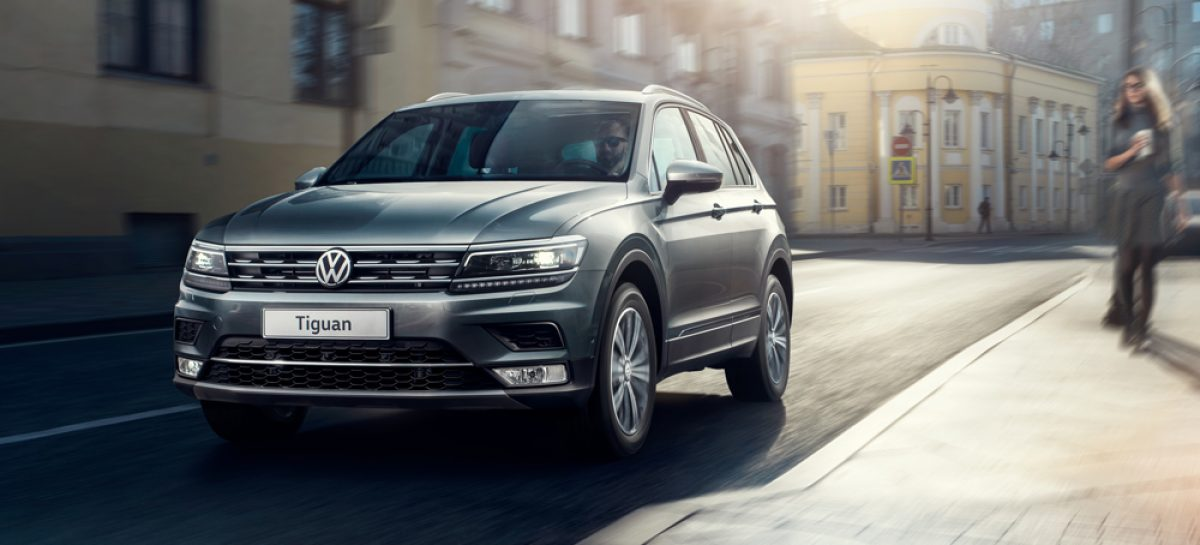 Tiguan на Driving Experience 2017