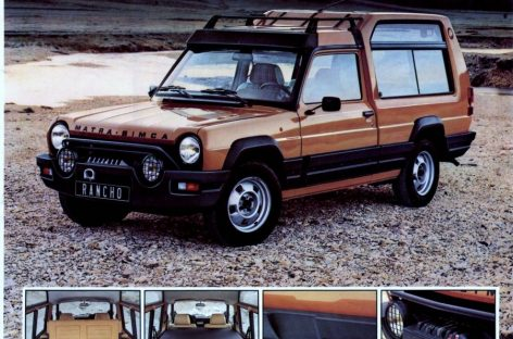 Кроссовер 1984 года выставили на продажу