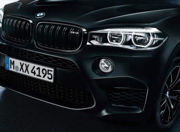 Черное пламя M серии BMW X5 и X6