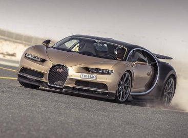 Ведущий Top Gear разогнал Bugatti Chiron почти до до 370 км/ч в аэропорту Дубая