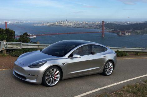 Характеристики самого доступного электрокара Tesla